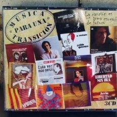 CD di Musica: MUSICA PARA UNA TRANSICION-CD TRIPLE. Lote 218982448