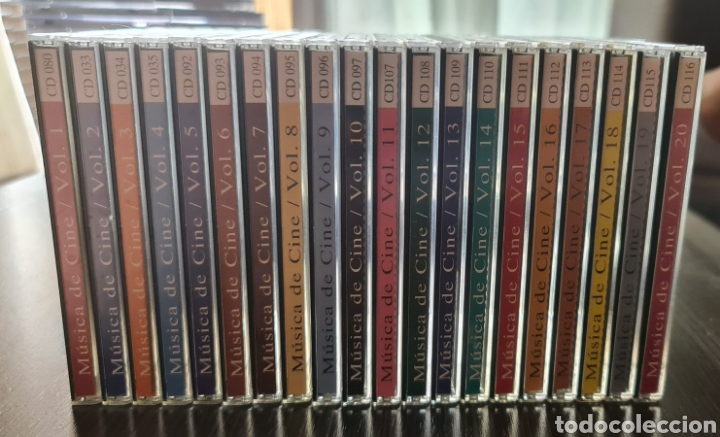 COLECCIÓN 20 CD'S MUSICA DE CINE (Música - CD's Bandas Sonoras)