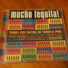 CDs de Música: 2 CDS MUCHO TEQUILA. SABINA, EXTREMODURO, LA UNIÓN, MCLAN, PLATERO Y TÚ, MANOLO TENA, REVÓLVER..... Lote 219015805