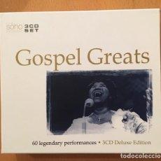 CDs de Música: GOSPEL GREATS - 3 CDS. Lote 219021711