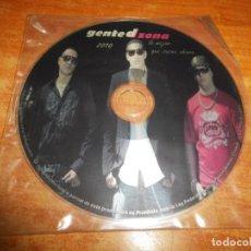 CDs de Música: GENTE D ZONA LO MEJOR QUE SUENA AHORA CD ALBUM PROMO DEL AÑO 2010 3 TEMAS EXTRA CONTIENE 18 TEMAS. Lote 219037943