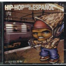 CDs de Música: HIP HOP SOLO EN ESPAÑOL - 3 CDS (UNA CAJA DOBLE + UNA INDIVIDUAL) 2001. Lote 219041972