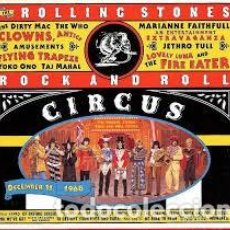 CDs de Música: CD THE ROLLING STONES ROCK AND ROLL CIRCUS. Lote 219082393