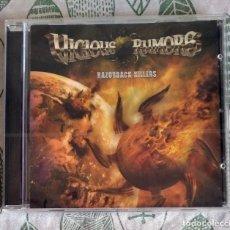 CDs de Música: VICIOUS RUMORS - RAZORBACK KILLERS CD NUEVO Y PRECINTADO - HEAVY METAL POWER METAL. Lote 219112940