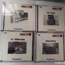 CDs de Música: COLECCION COMPLETA CD´S CAMBIO 16 AÑOS 60 (16 CD´S). Lote 219118375
