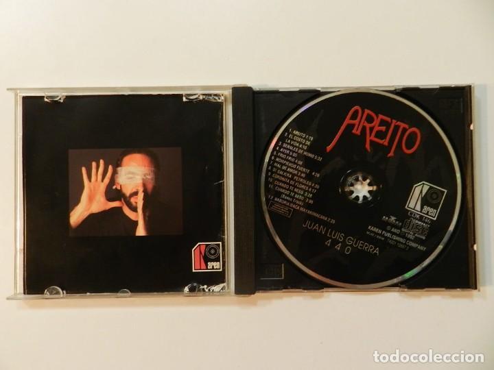 CDs de Música: DISCO CD. JUAN LUIS GUERRA Y 4.40 - AREITO. COMPACT DISC. - Foto 2 - 219127763