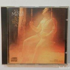 CDs de Música: DISCO CD. VICTOR MANUEL - SOY UN CORAZÓN TENDIDO AL SOL. COMPACT DISC.. Lote 219128026