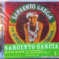 CDs de Música: SARGENTO GARCIA * CD * LA SEMILLA ESCONDIDA *LTD EDICIÓN ESPECIAL EN ESPAÑOL +BONUS * PRECINTADO !!!. Lote 26941436