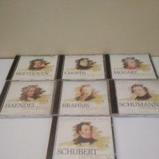 CDs de Música: 7 CDS DE MÚSICA CLÁSICA. Lote 219158925