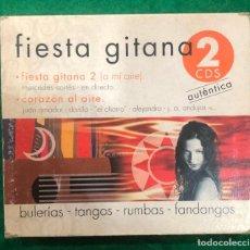 CDs de Música: FIESTA GITANA 2 / CORAZON AL AIRE / DOBLE CD DE 2003 RF-7690. Lote 219162265