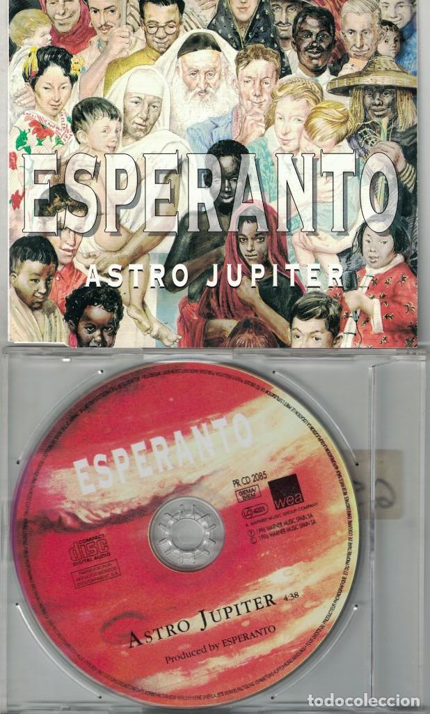 ESPERANTO - ASTRO JUPITER (CDSINGLE CAJA, WARNER 1996) (Música - CD's New age)