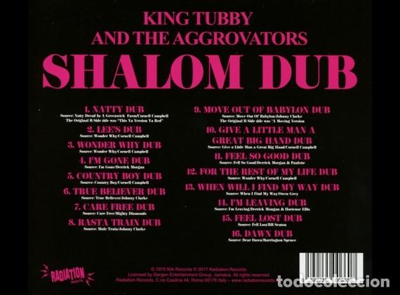 CDs de Música: King Tubby And The Aggrovators – Shalom Dub - Foto 2 - 219189416