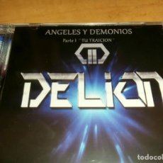 CDs de Música: DELION CD ANGELES..SPANISH HEAVY 2020-MAGO DE OZ-AVALANCH-SAUROM-SNAGORA-SAEDIN-ZARPA-MAZO. Lote 219209058