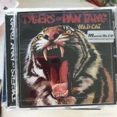 CDs de Música: TYGERS OF PAN TANG - WILD CAT (1980) - CD MUSIC ON CD 2018 NUEVO - 8 BONUS TRACKS. Lote 219213553