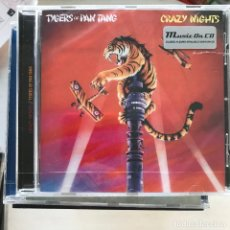 CDs de Música: TYGERS OF PAN TANG - CRAZY NIGHTS (1981) - CD MUSIC ON CD 2018 NUEVO. Lote 219213717