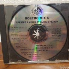 CDs de Música: CD BOLERO MIX 6 (SIN CARÁTULAS). Lote 219230336