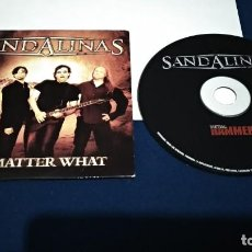 CDs de Música: CD ( SANDALINAS - NO MATTER WHAT ) 1998 PROMO - METAL HAMMER SPAIN. Lote 219238846