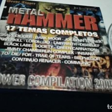 CDs de Música: CD ( METAL HAMMER - POWER COMPILATION 2005 ) 2005 PROMO - METAL HAMMER SPAIN 17 TEMAS COMPLETOS. Lote 219239072