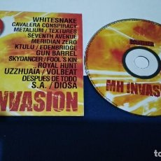 CDs de Música: CD ( METAL HAMMER - MH INVASION ) PROMO - METAL HAMMER SPAIN 17 TEMAS COMPLETOS. Lote 219239173