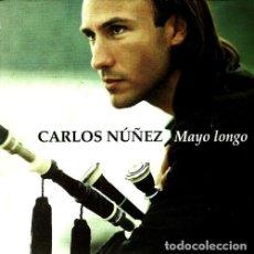 CDs de Música: CARLOS NUÑEZ. MAYO LONGO. GAITA. GAITERO. GALICIA. CD.. Lote 219252738