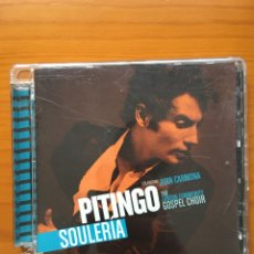 CDs de Música: PITINGO-SOULERIA-2008-EDICION CON JUAN CARMONA BONUS. Lote 219257645