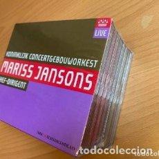 CDs de Música: EXTRAORDINARIO MARISS JANSONS RCO LIVE 7 CS + 1 DVD. Lote 219273711