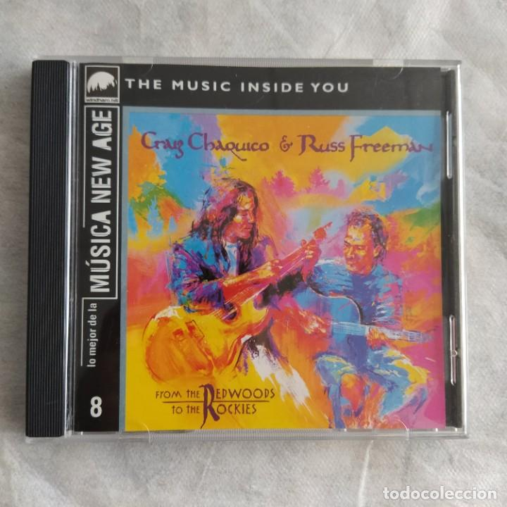 CRAIG CHAQUICO & RUSS FREEMAN - FROM THE REDWOODS TO THE ROCKIES (CD, ALBUM) (D:NM) (Música - CD's New age)