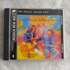 CDs de Música: CRAIG CHAQUICO & RUSS FREEMAN - FROM THE REDWOODS TO THE ROCKIES (CD, ALBUM) (D:NM). Lote 219285732