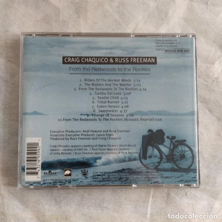CDs de Música: Craig Chaquico & Russ Freeman - From The Redwoods To The Rockies (CD, Album) (D:NM) - Foto 2 - 219285732