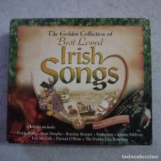 CDs de Música: THE GOLDEN COLLECTION OF BEST LOVED IRISH SONGS - 3CDS. Lote 219310633