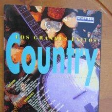 CDs de Música: COUNTRY , LOS GRANDES EXITOS , CD-ROM + 12 TEMAS EN VERSION ORIGINAL. Lote 219331353