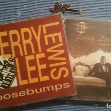 CDs de Música: JERRY LEE LEWIS. YOUNG BLOOD + GOOSEBUMPS .. Lote 219343771