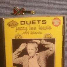CDs de Música: JERRY LEE LEWIS. DUETS. JERRY LEE LEWIS AND FRIENDS. Lote 219343828