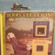 CDs de Música: JERRY LEE LEWIS. ORIGINAL GOLDEN HITS VOL. I & II. Lote 219343940