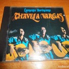 CD de Música: CHAVELA VARGAS LAMENTO BORINCANO CD ALBUM DEL AÑO 1994 CONTIENE 12 TEMAS RARO. Lote 219348971