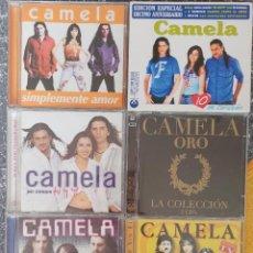 CDs de Música: LOTE CD CAMELA. Lote 219366592