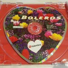 CDs de Música: SAN VALENTÍN / CD-PROMO / DESDE VALENTINE CON AMOR / 4 TEMAS / DE LUJO / CURIOSO.. Lote 219380800