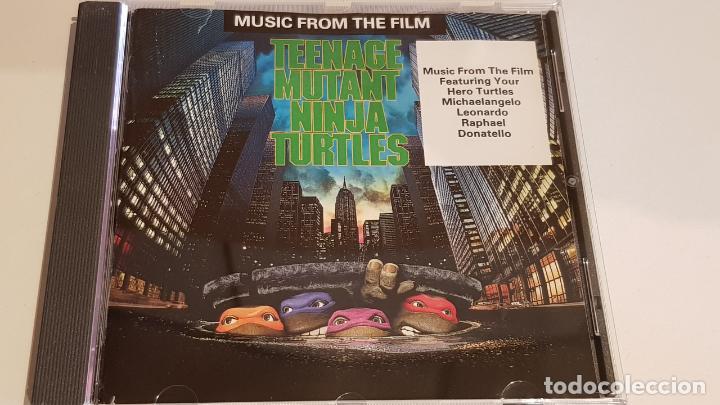B.S.O. !! TEENAGE MUTANT NINJA TURTLES / CD - SBK RECORDS / CALIDAD LUJO. (Música - CD's Bandas Sonoras)