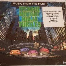 CDs de Música: B.S.O. !! TEENAGE MUTANT NINJA TURTLES / CD - SBK RECORDS / CALIDAD LUJO.. Lote 219385086