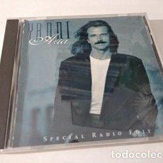 CDs de Música: YANNI - ARIA CD 1994 (USA) SPECIAL RADIO EDIT RELAX MUSIC RELAJACION. Lote 219387228