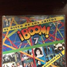 CDs de Música: BOOM 7-1991-2 CD-PRECINTADO!!-HEROES DEL SILENCIO LOQUILLO LUZ GABINETE CALIGARI ETC. Lote 219391987