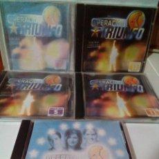 CDs de Música: OPERACION TRIUNFO -5 CD`S. Lote 219399592