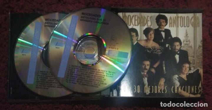 CDs de Música: MOCEDADES (ANTOLOGIA - MIS 30 MEJORES CANCIONES) 2 CDs 1994 - Foto 3 - 155013486