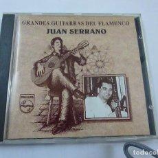 CDs de Música: JUAN SERRANO - GRANDES GUITARRAS DEL FLAMENCO -CD - 17 TEMAS - C 1. Lote 219405655