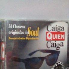 CDs de Música: 53 CLASICOS ORIGINALES DEL SOUL-CAIGA QUIEN CAIGA. Lote 219409042