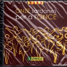 CDs de Música: COBLA DE L'ONCE - ONZE SARDANES PER A L'ONCE. Lote 219410761