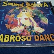 CDs de Música: CD ( SOUND BALERA - SABROSO DANCE ) 2002 TABAIBA RECORDS - GILBERTO MARTIN / GUILLERMO ALBELO. Lote 219424045