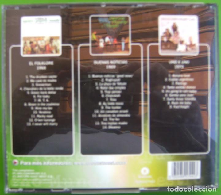 CDs de Música: Nuestro Pequeño Mundo (Discografia Básica: EL FOLKLORE DE + BUENAS NOTICIAS+ UNO A UNO (3 CDS) - Foto 2 - 219429291