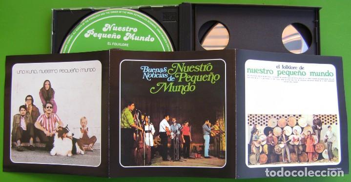 CDs de Música: Nuestro Pequeño Mundo (Discografia Básica: EL FOLKLORE DE + BUENAS NOTICIAS+ UNO A UNO (3 CDS) - Foto 3 - 219429291