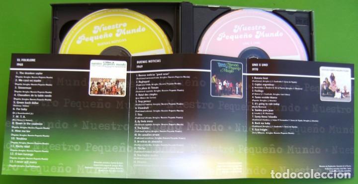 CDs de Música: Nuestro Pequeño Mundo (Discografia Básica: EL FOLKLORE DE + BUENAS NOTICIAS+ UNO A UNO (3 CDS) - Foto 4 - 219429291